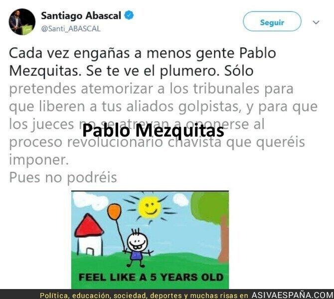 102896 - ¿A parte de mentir y decir vivaspaña qué más sabe decir Abascal?