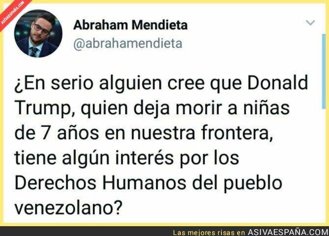 103247 - El interés de Donald Trump en Venezuela