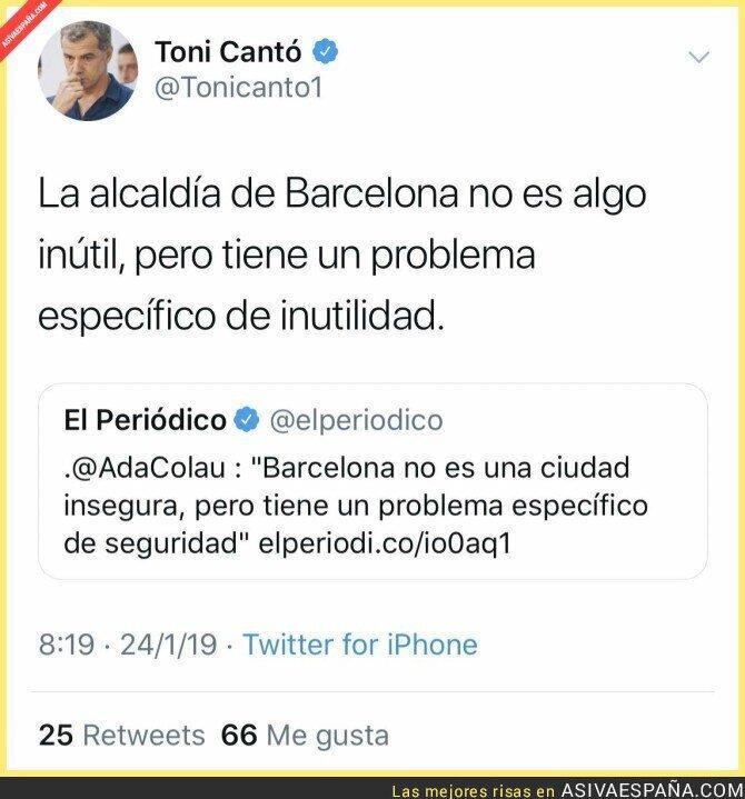 103256 - La inseguridad de Barcelona se llama Ada Colau