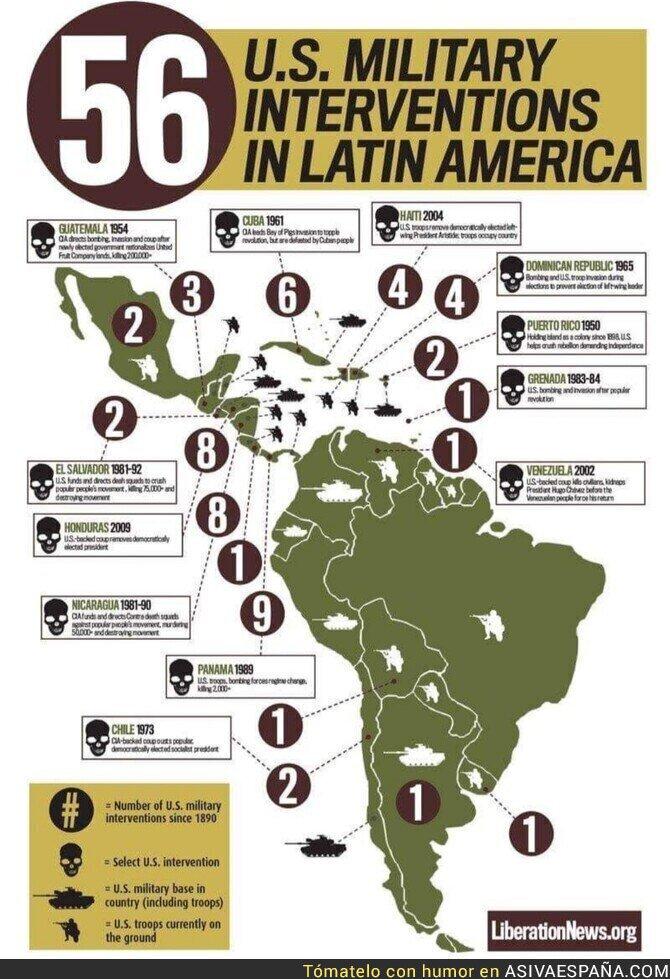 103272 - Las veces que los yankees han metido sus narices en latinoamérica