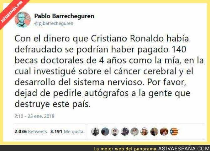 103320 - El dinero defraudado de Cristiano Ronaldo