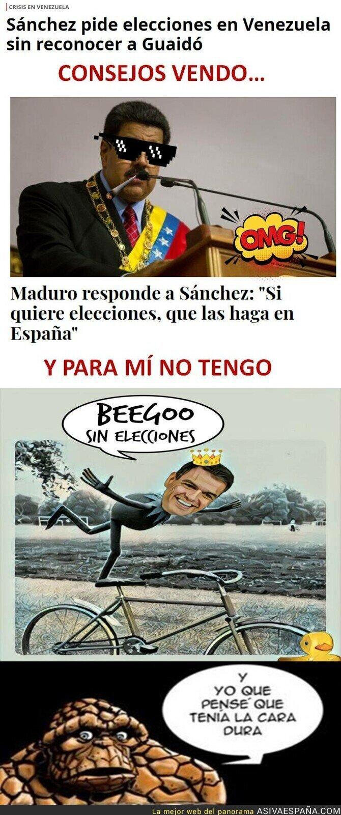 103409 - Que Maduro te meta un ZASCA es lo último en política
