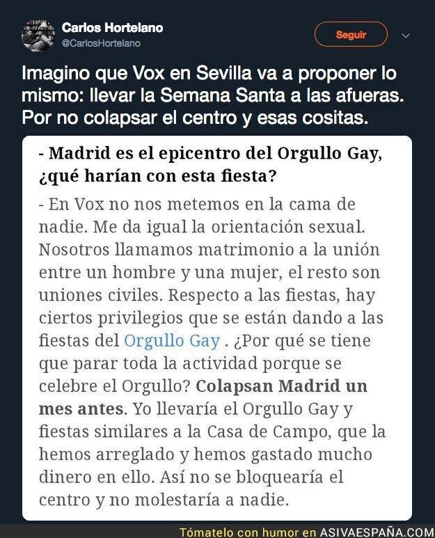 103528 - Esto haría VOX con el Orgullo Gay en Madrid