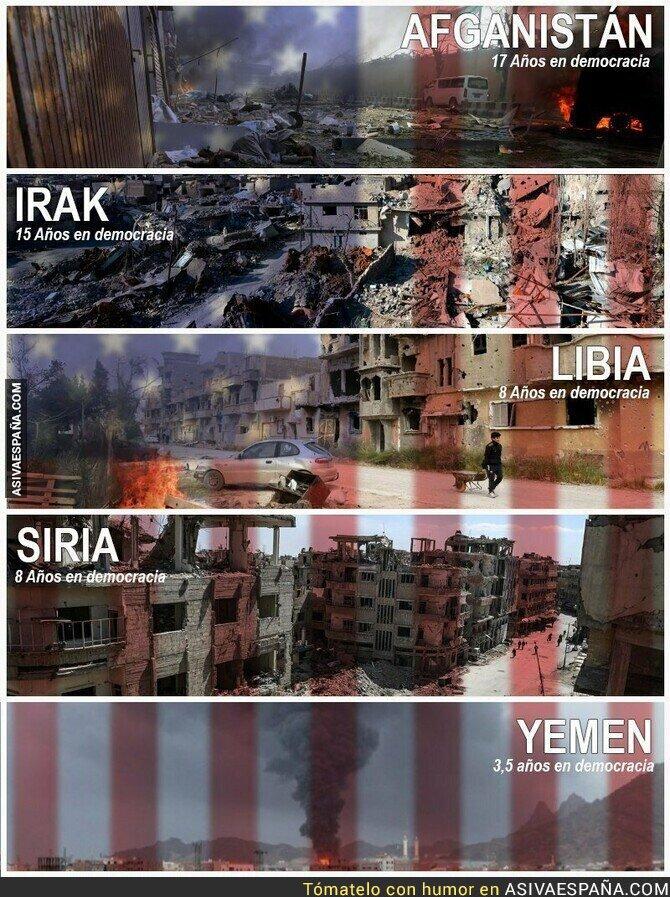 103651 - Esta es la democracia que ofrece Estados Unidos