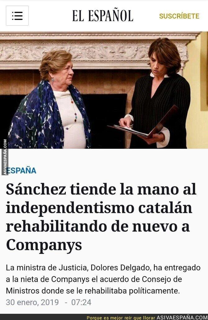 103665 - El Gobierno de España homenajea a Companys, a la vez que afirma que no hace concesiones a los separatistas