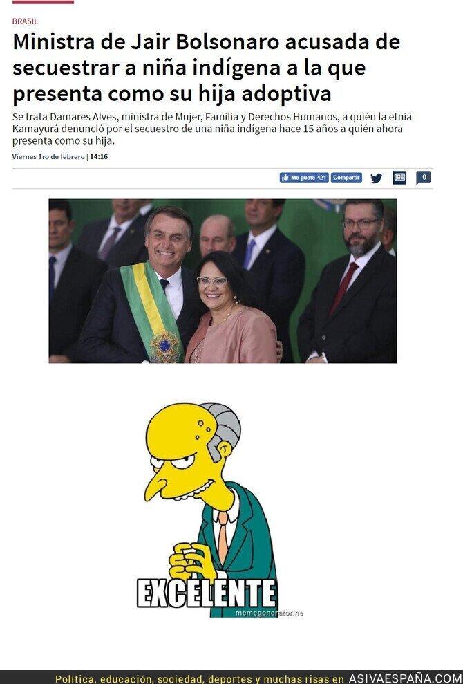 103842 - El gobierno de Bolsonaro intenta a su manera no parecer racista