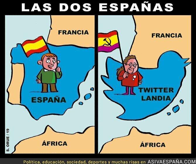 104416 - La España real y la España friki que pulula por Twitter y AVE