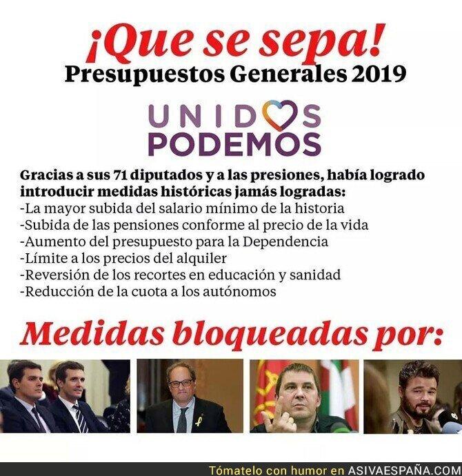 104530 - Ciudadanos y Partido Popular se unen al independentismo y etarras para bloquear los presupuestos generales