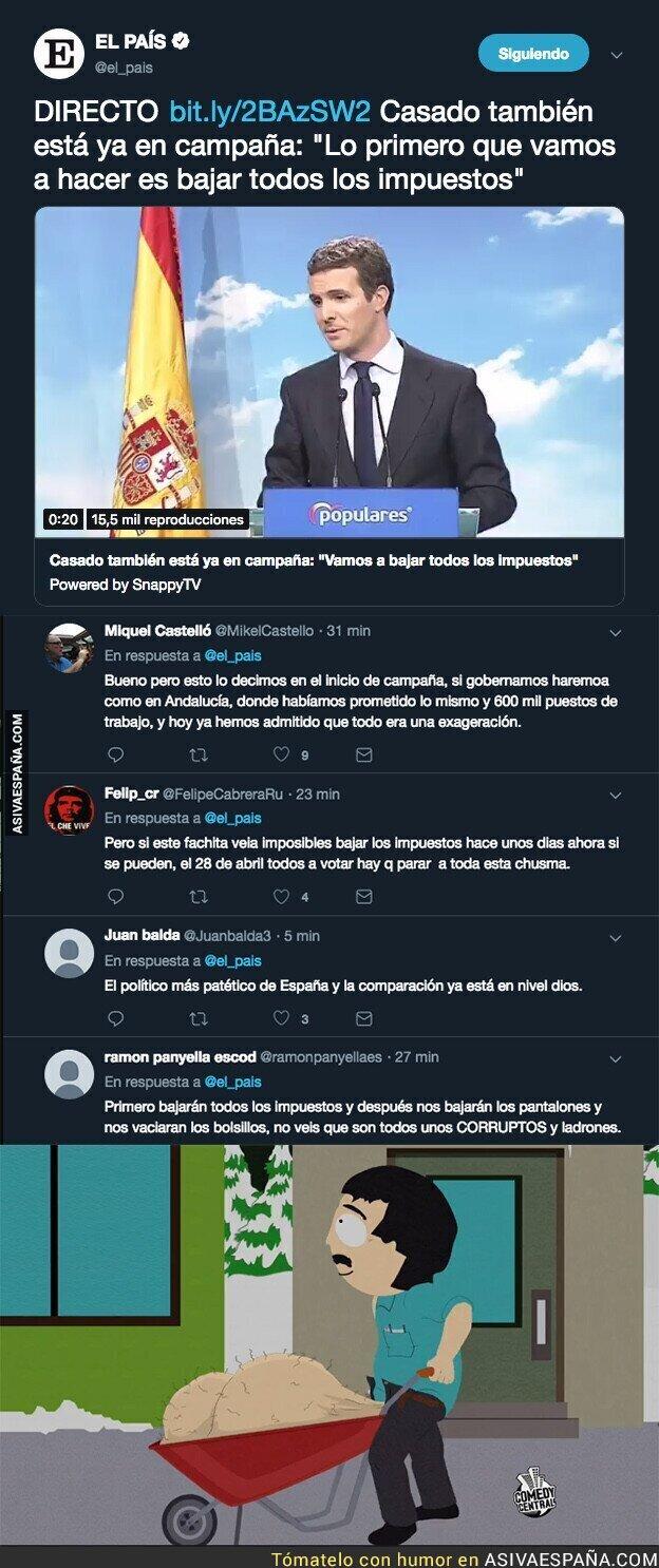104636 - Ahí viene Pablo Casado con sus promesas electorales