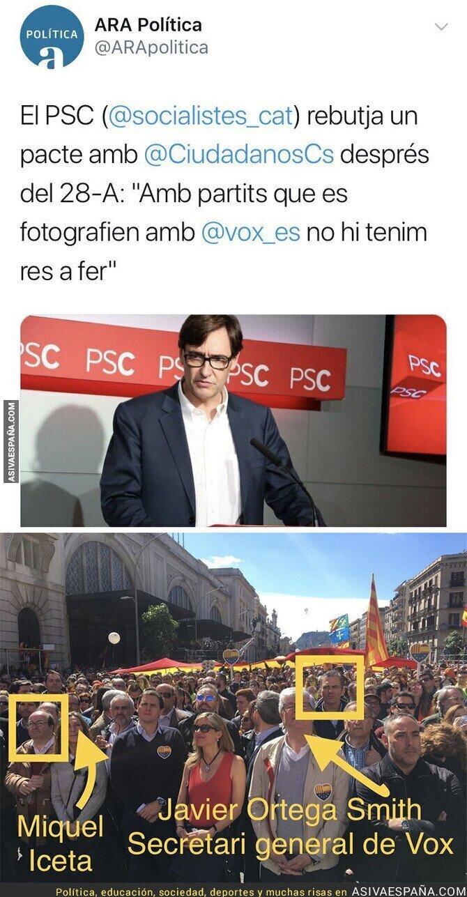 104838 - ¿Se puede tener más cara que los socialistas de Catalunya?
