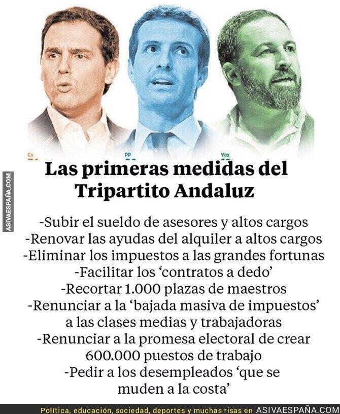 105001 - Las medidas para el pueblo andaluz de PP-Ciudadanos y VOX