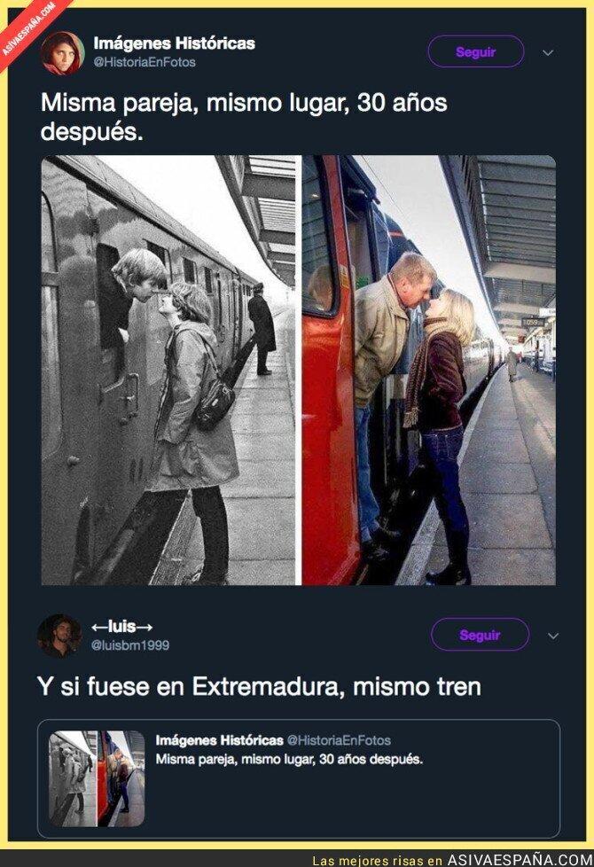 105031 - El tren en Extremadura está realmente mal