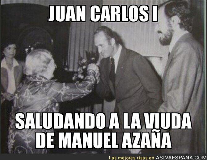 105283 - Juan Carlos I se adelantó a Pedro Sánchez