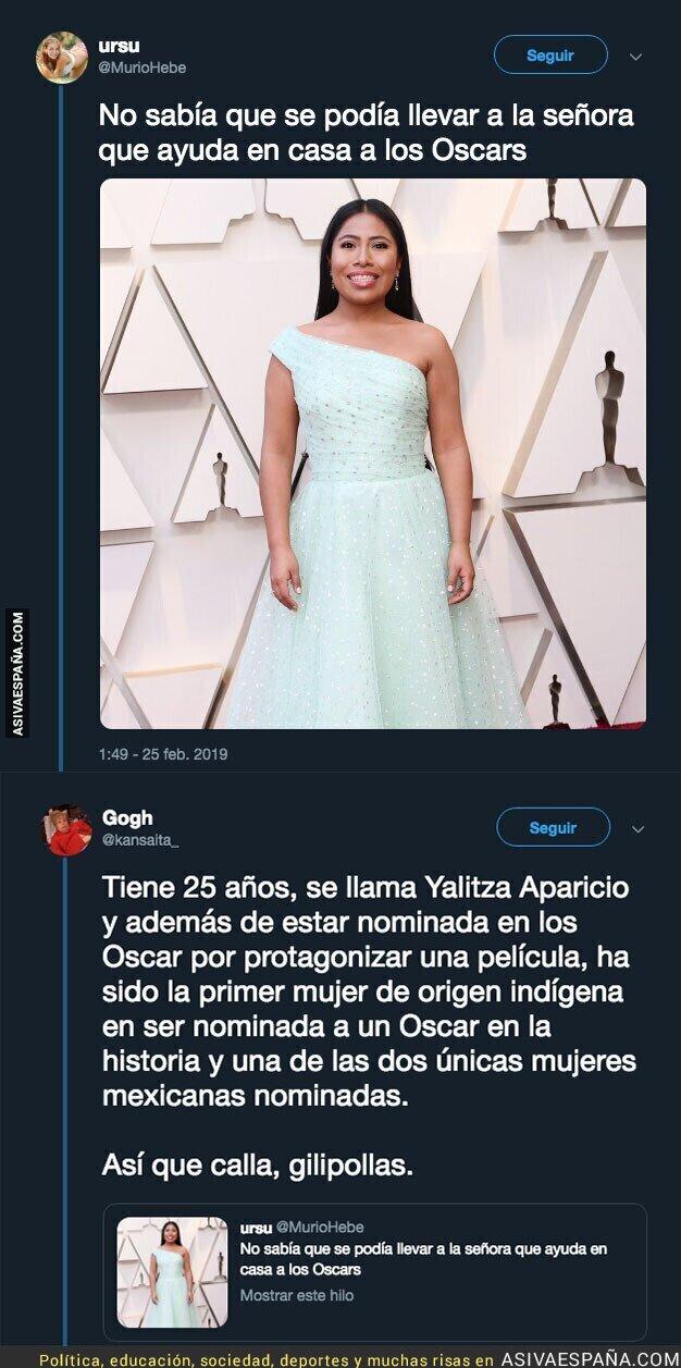 105364 - Cuando te sale el racismo asqueroso mientras ves la gala de los Oscar y te pegan una respuestaza épica