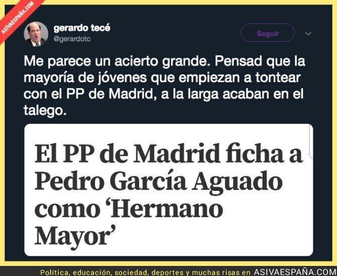 105380 - Pedro García Aguado ficha por el Partido Popular