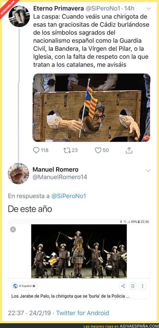 105390 - En Cádiz no hay catalanofobia, allí se toman a risa toda la actualidad
