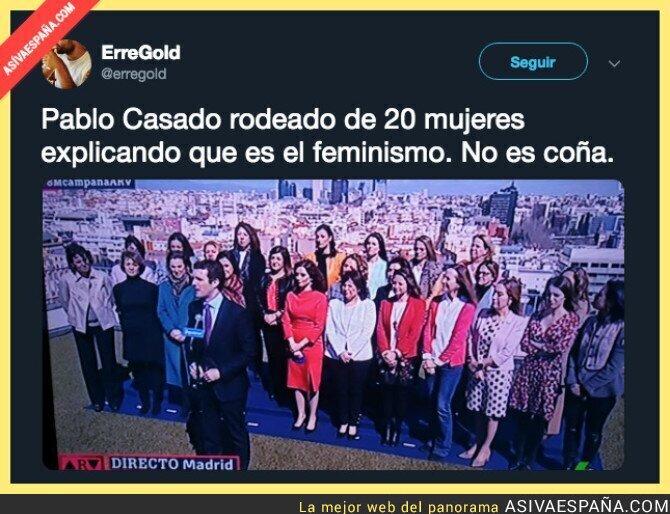 106145 - Pablo Casado mostrando bien lo que es el PP