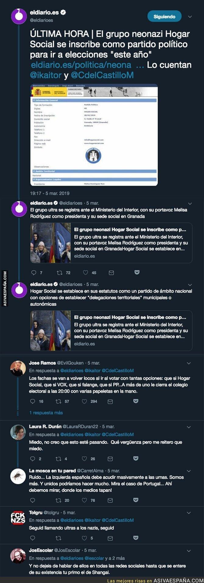 106160 - 'Hogar Social Madrid' se presentará a las elecciones