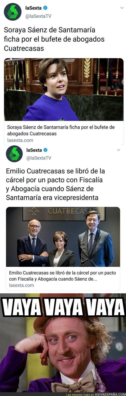 106431 - La de favores que debe Soraya Sáenz de Santamaría