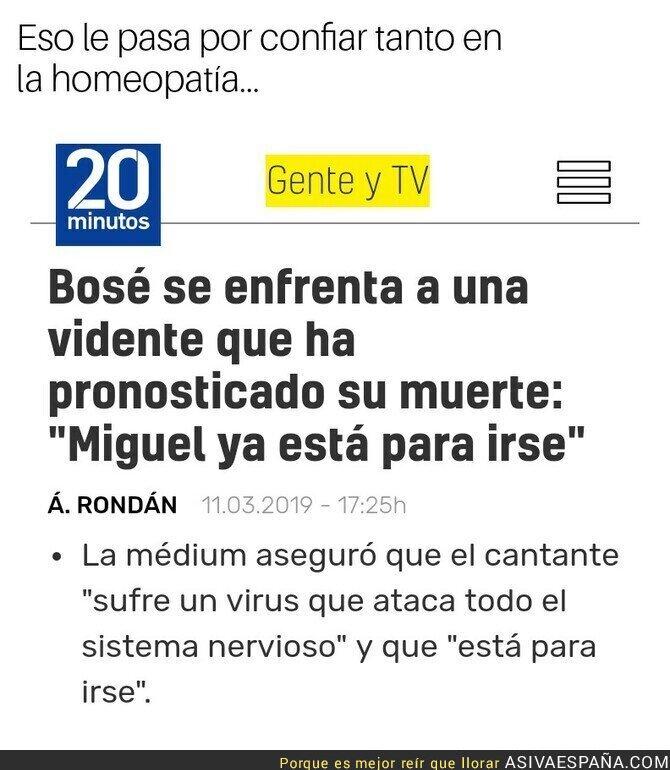 106453 - Miguel Bosé y las pseudociencias