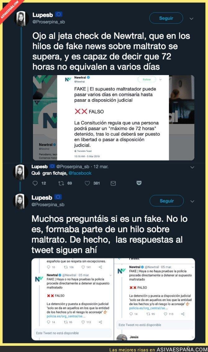 106699 - 'Newtral' de la periodista Ana Pastor es la que verifica las noticias falsas en Facebook