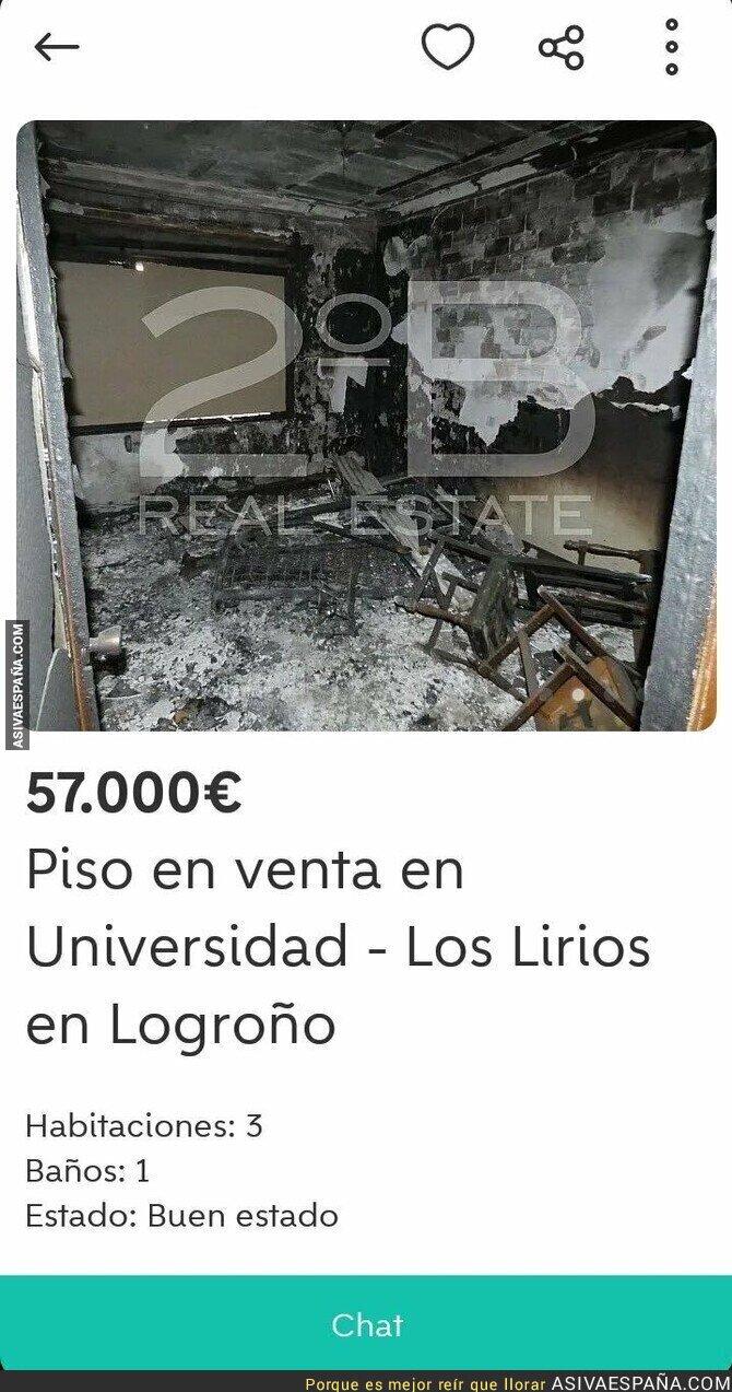 106850 - Se vende piso en Logroño en buen estado