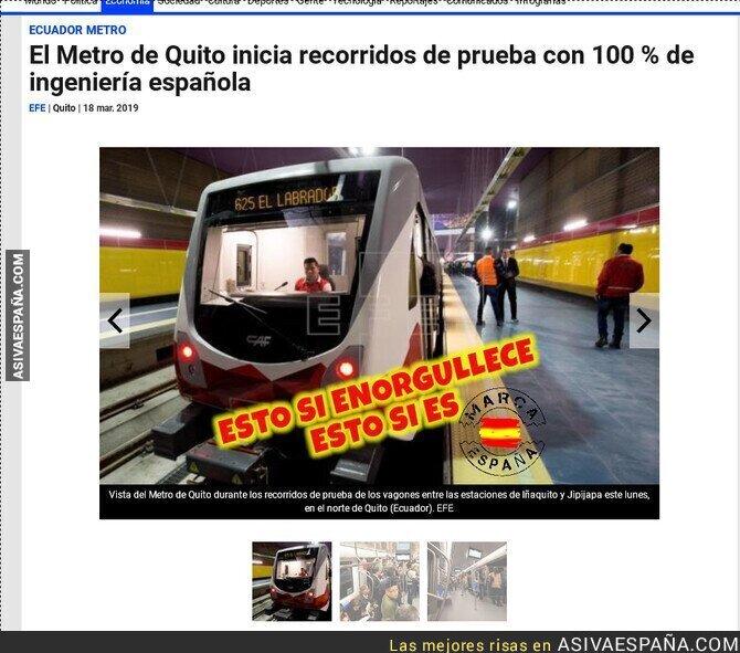 106861 - Metro, marca España.