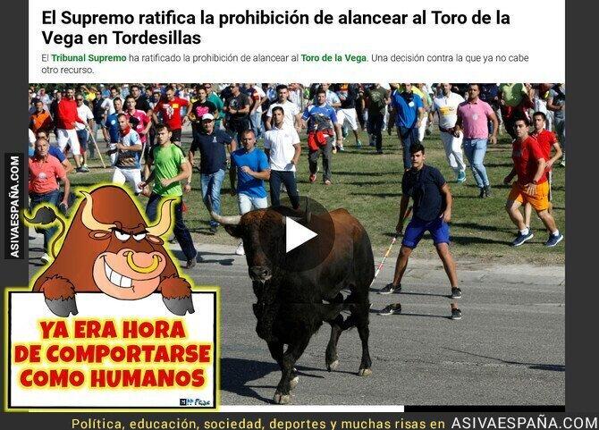 106870 - Prohibido alancear al Toro de la Vega