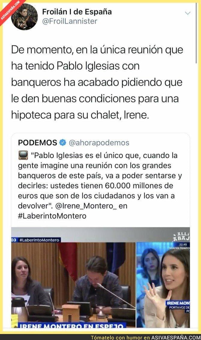 107021 - Las reuniones de Pablo Iglesias con los banqueros