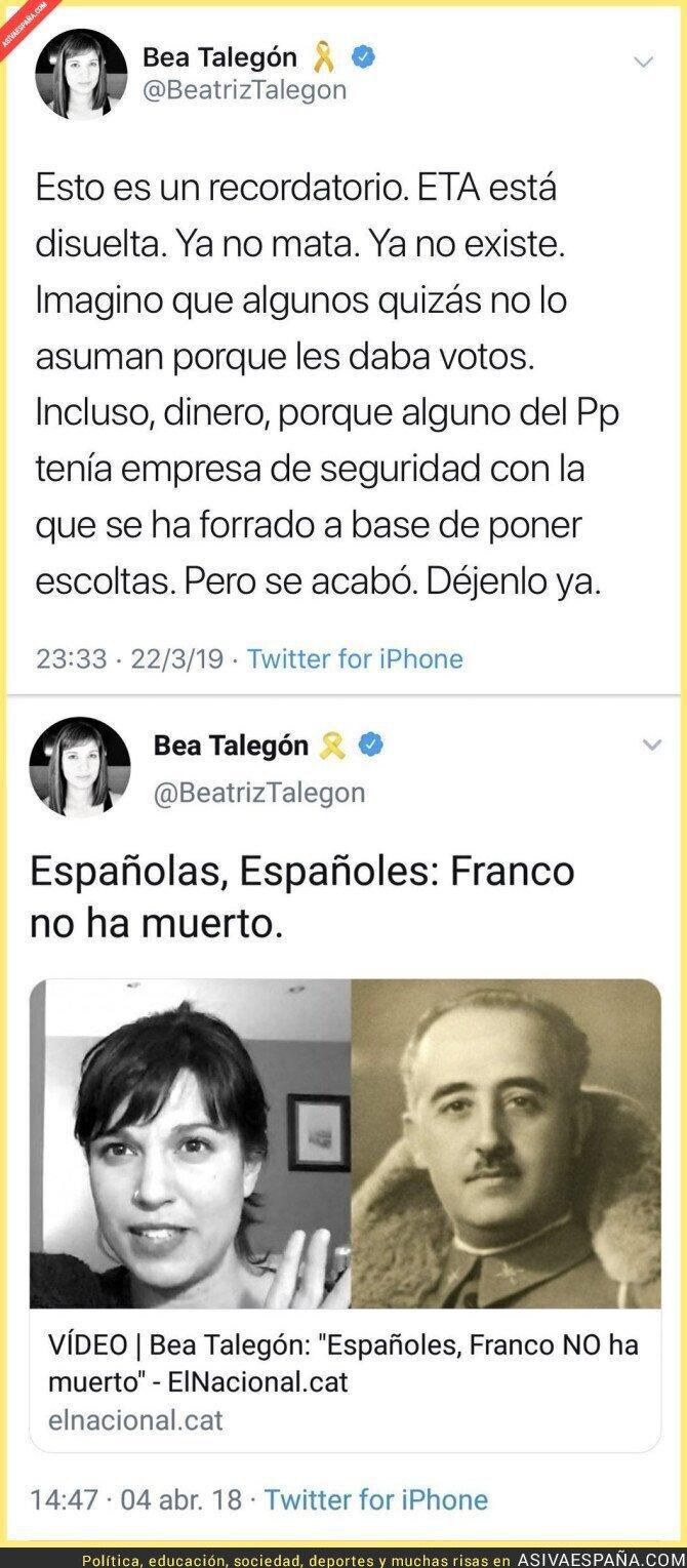 107354 - Beatriz Talegón debería cuidar esa obsesión