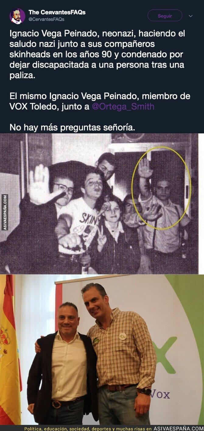 107429 - Este es Ignacio Vega Peinado, neonazi de Vox y otro ejemplo de lo que es ese partido
