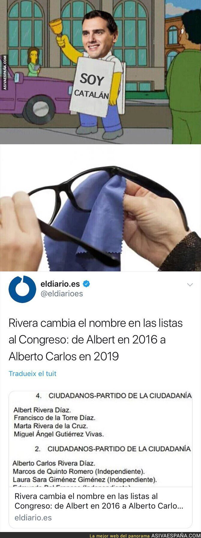 107525 - Con ustedes: Alberto Carlos Rivera