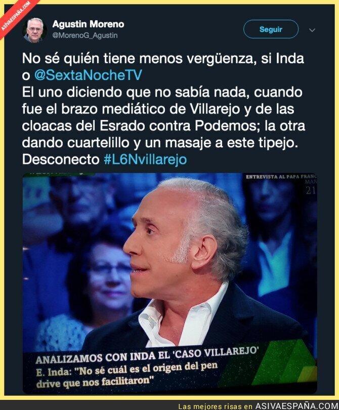 107837 - Es muy fuerte que Eduardo Inda siga en La Sexta