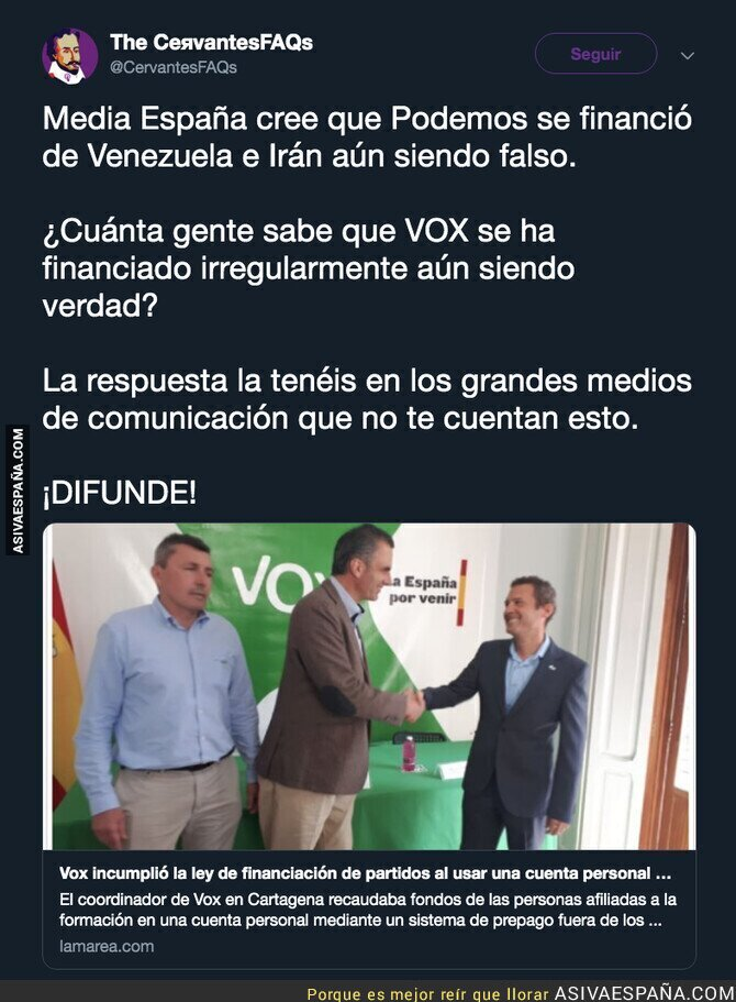 107904 - La financiación ilegal de VOX