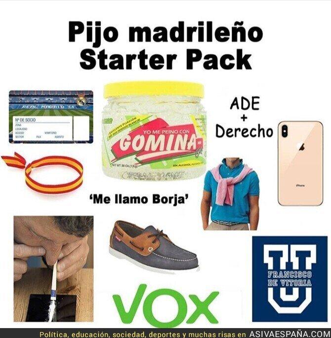 108007 - Pijo madrileño starter pack