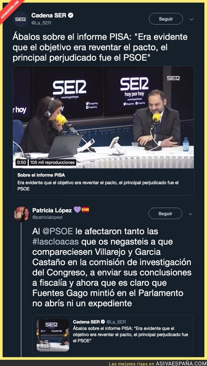 108225 - El PSOE es cómplice de las Cloacas del Estado
