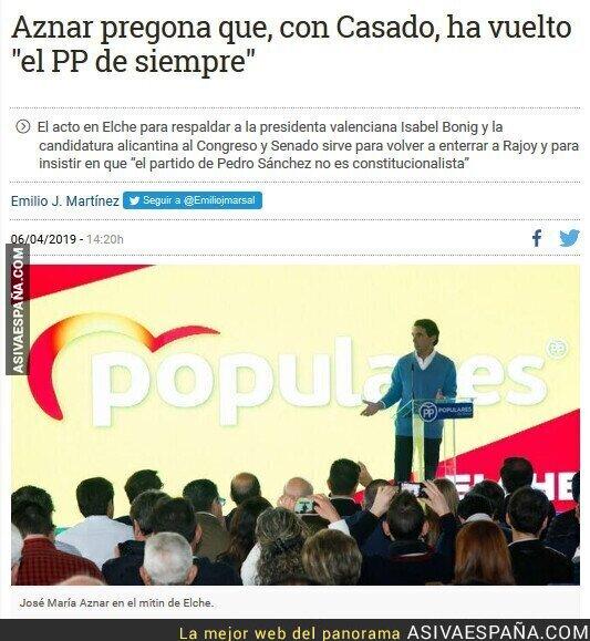 108330 - Aznar reconoce que siguen siendo la misma cosa corrupta