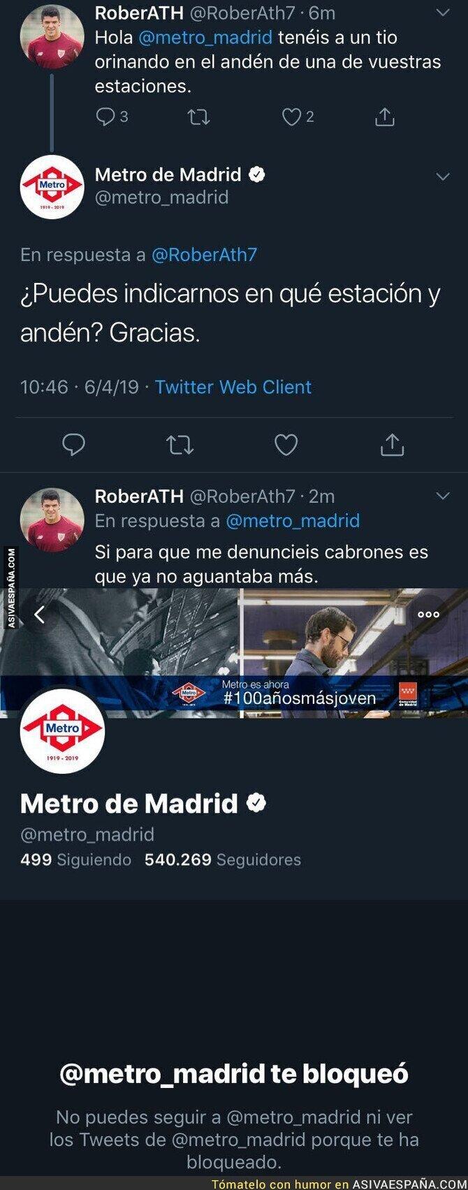 108360 - La historia del metro de Madrid que emocionó a Steven Spielberg