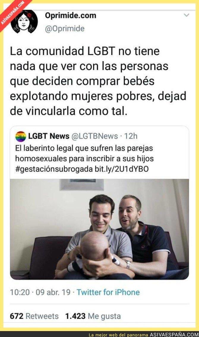 108898 - NO en el nombre de la comunidad LGTB