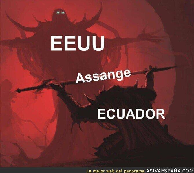 108917 - Julian Assange está a la merced de EEUU