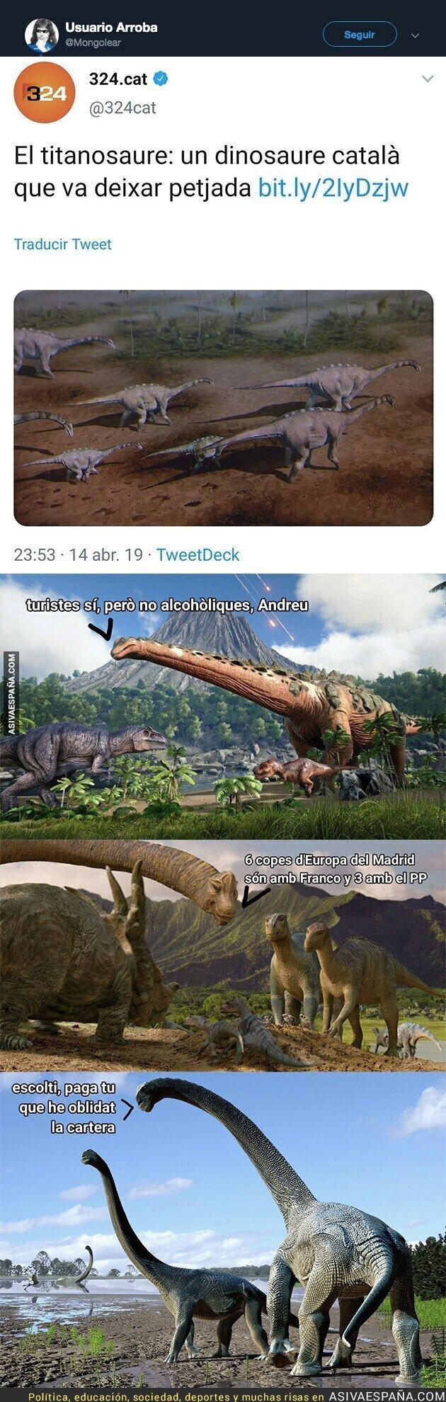 109210 - Titanosaure: el dinosaurio catalán