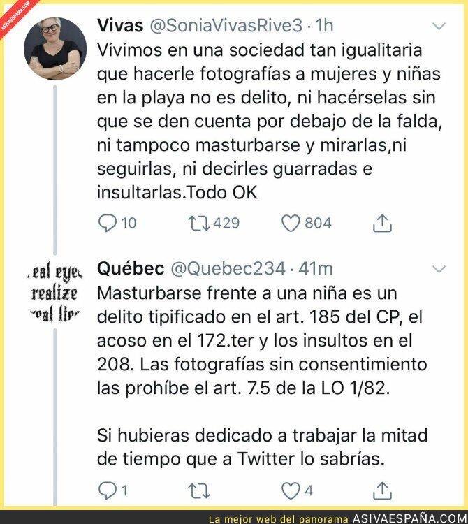 109228 - Todo mal en este mensaje de la de Podemos