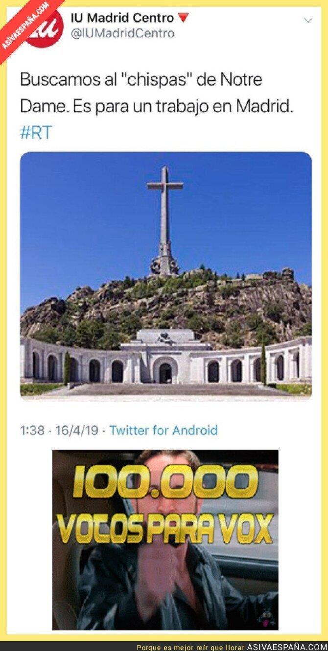 109463 - Luego se extrañarán que VOX gane tantos votos