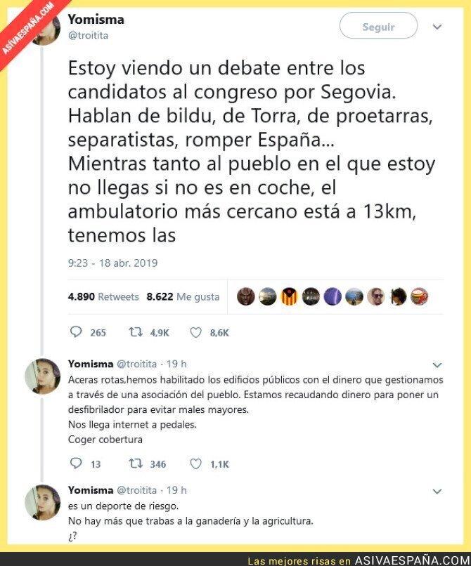 109675 - Hablando de las preocupaciones de los ciudadanos en Segovia