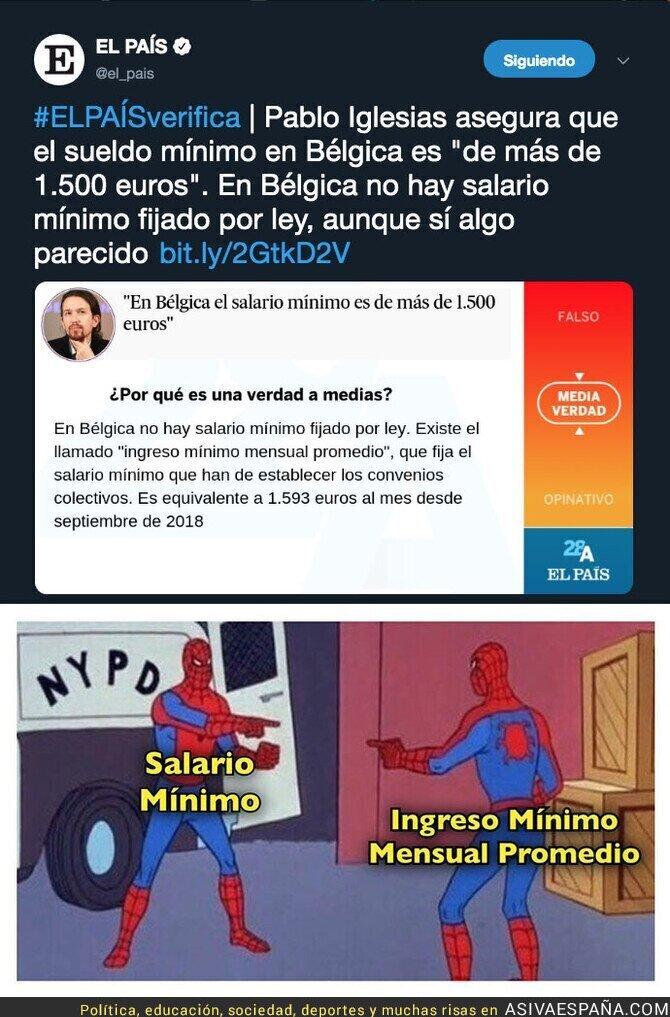 110258 - En 'El País' no encontraban nada en lo que Pablo Iglesias mentía así que se inventaron una