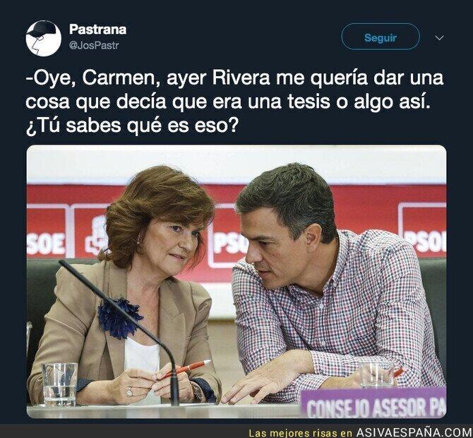110390 - Pedro Sánchez está muy confundido