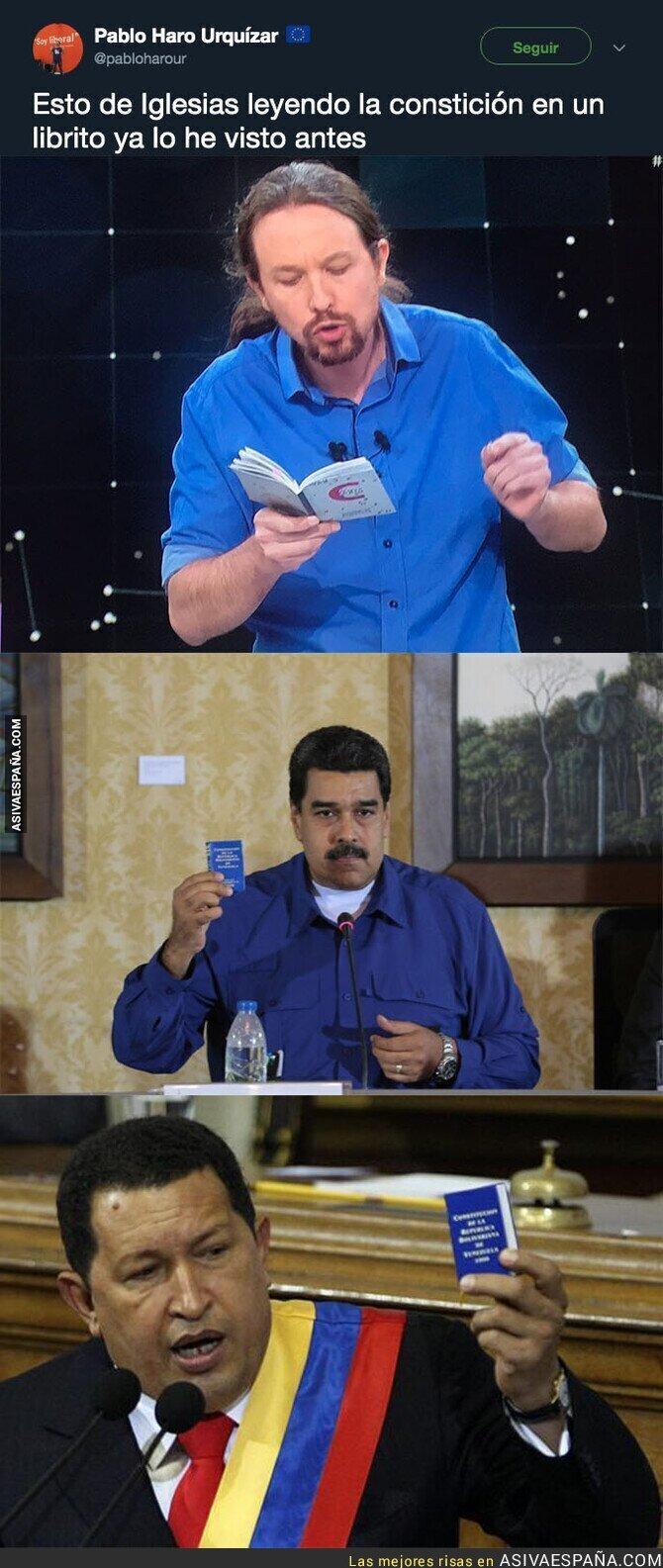 110395 - La táctica de Pablo Iglesias ya se lleva usando hace tiempo en Venezuela