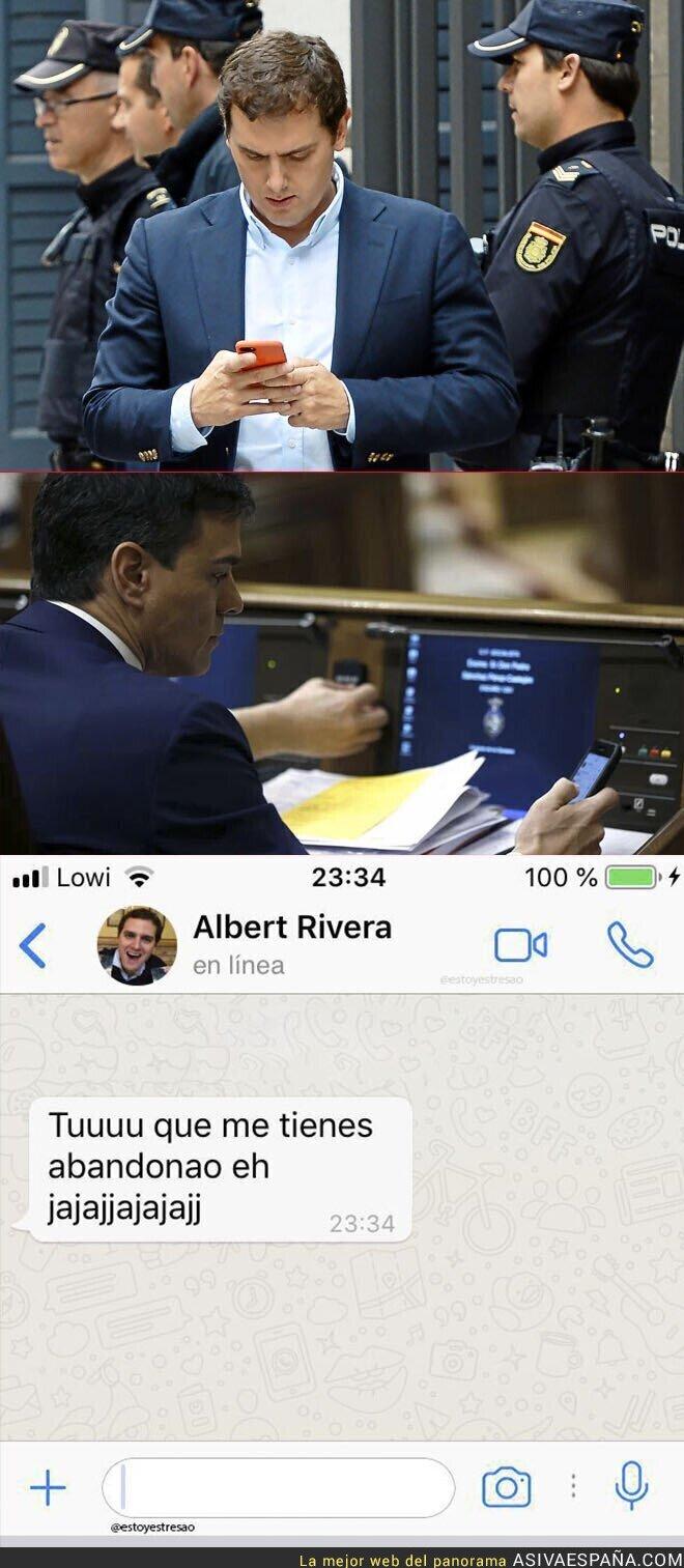 110884 - Albert Rivera reclama un poco de atención