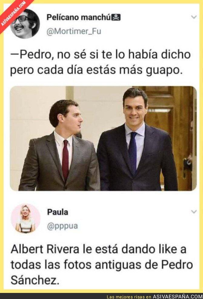 111116 - Albert Rivera empieza la reconquista con Pedro Sánchez