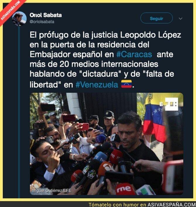 111185 - La falta de libertad que hay en Venezuela